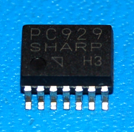 PC929 High Speed OPIC Photocoupler, SOIC-14