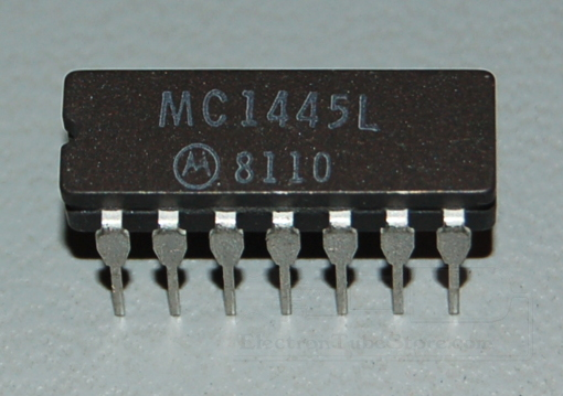 MC1445L Gate-Controlled 2-Ch Input Wideband Video Amplifier, 50MHz, DIP-14
