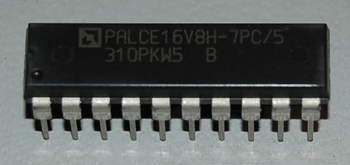 AMD PALCE16V8H-7PC/5 EECMOS PAL, 125MHz, DIP-20
