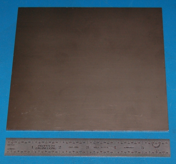 "1.6mm Nickel Sheet 6x2/"" .062/"""
