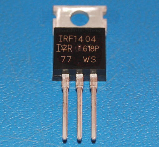 IRF1404 N-Channel Power MOSFET, 40V, 202A