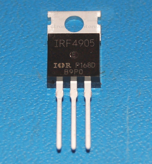 IRF4905 P-Channel Power MOSFET, 55V, 74A