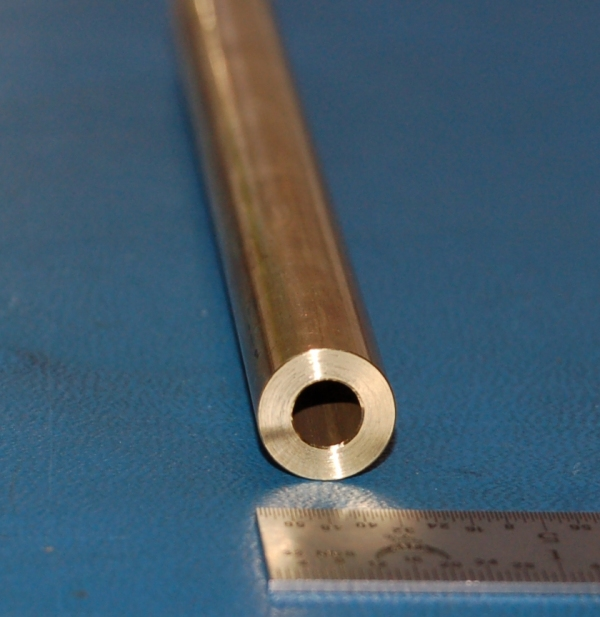 """25.4mm .500/"""" 12.7mm x 1/"""" Brass Rectangular Bar x 12/"""""""